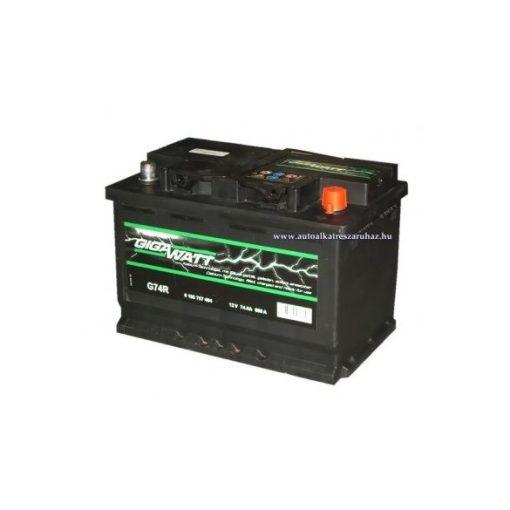 Bosch Gigawatt 12V 74Ah J+ 680A akkumulátor