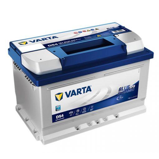 Varta Blue Dynamic EFB 12V 65Ah 650A Jobb+ autó akkumulátor - 565500