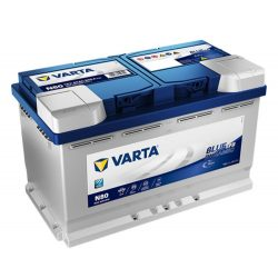 Varta Blue Dynamic EFB 12V 80Ah 800A Jobb+ autó akkumulátor