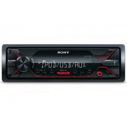 Sony DSX-A300DAB USB DAB+ autórádió - piros gombszín