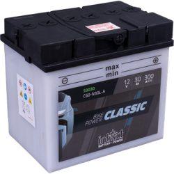 IntAct C60-N30L-A 12V 30Ah 300A motor akkumulátor - 53030