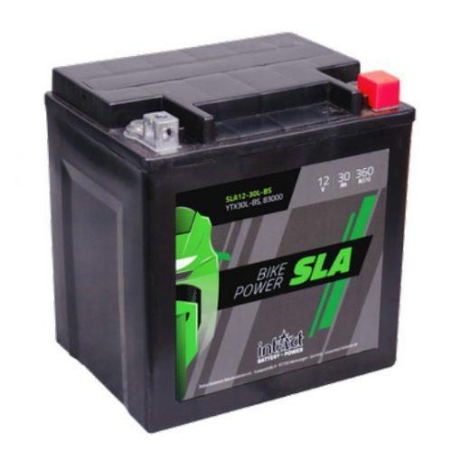 IntAct YTX30L-BS 12V 30Ah 360A AGM SLA motor akkumulátor - 530905