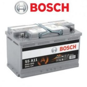 Bosch S5 AGM autó akkumulátor